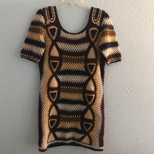 Fiets Voor 2 by Anthropologie crochet dress